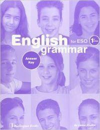 English grammar for eso 1ºciclo answer key