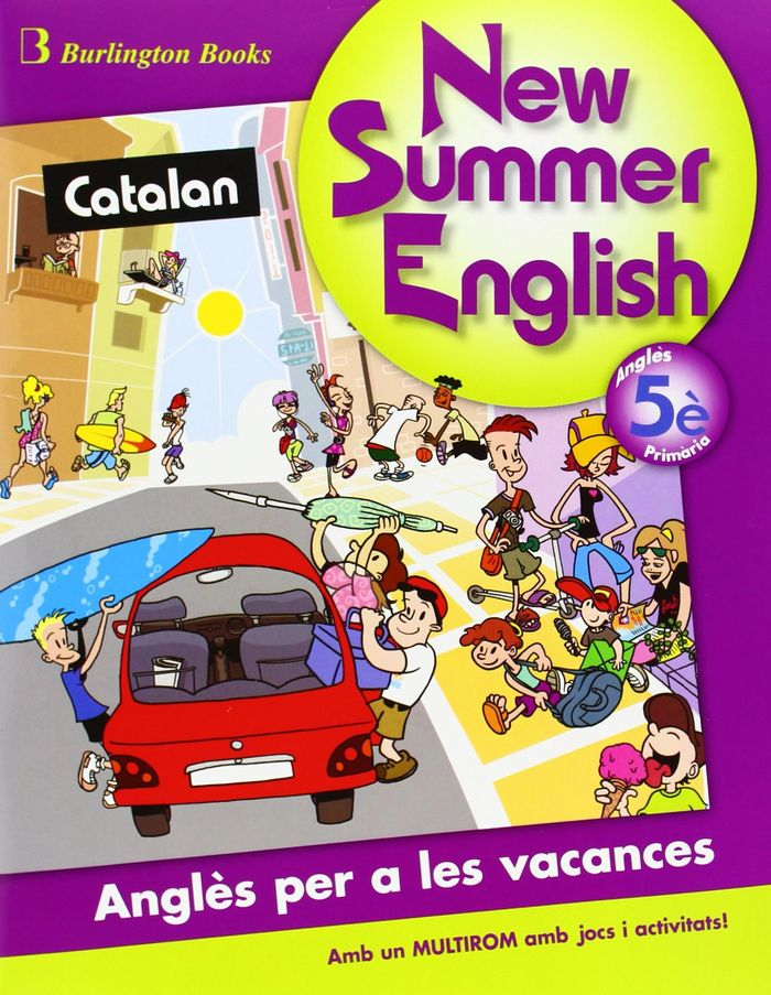 New summer english 5ºep sb+cd 09 catalan