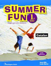 Summer fun 1ºeso sb+cd 09 vacaciones catalan