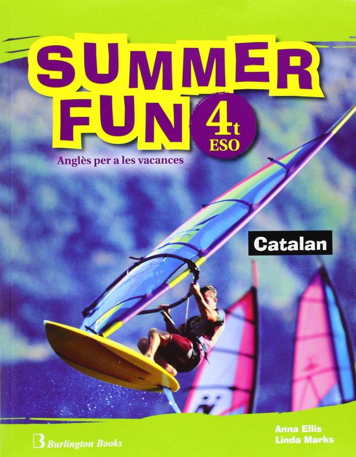 Summer fun 4ºeso sb+cd 10 vacaciones catalan