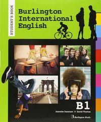 Burlington internat.english b1 st 15         burin