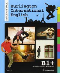 Burlington internat.english b1+ st 15        burin