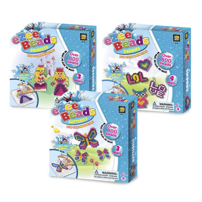Juego ezee beads 800 uds 4 modelos surtidos