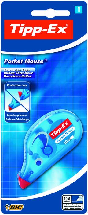 Corrector bic pocket mouse 10m blister 1 unidad 8207901