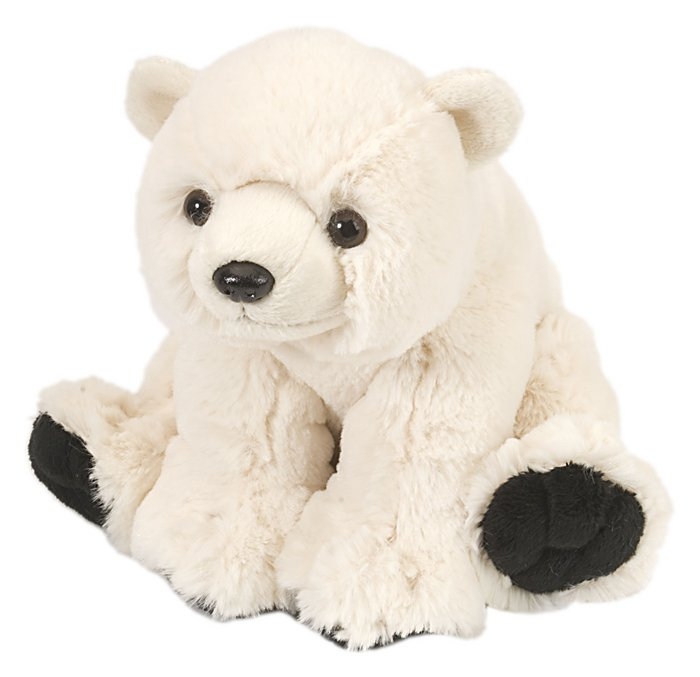 Peluche ck - mini oso polar cachorro 20 cm