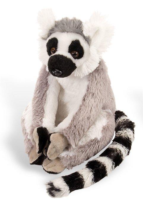 Peluche ck - mini lemur de cola anillada 20 cm