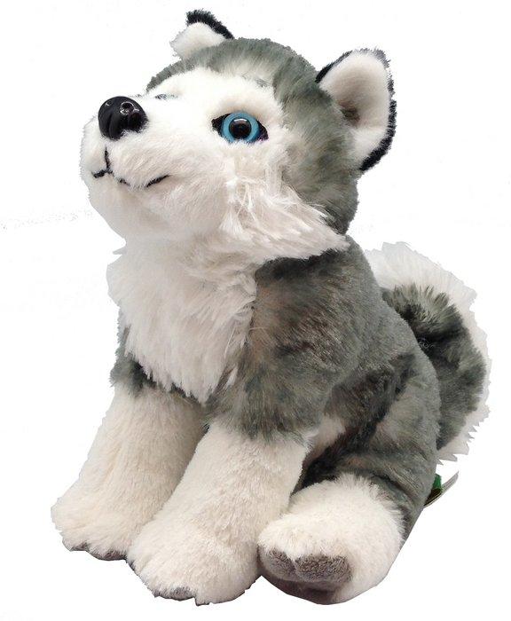 Peluche ck - mini husky siberiano 20 cm