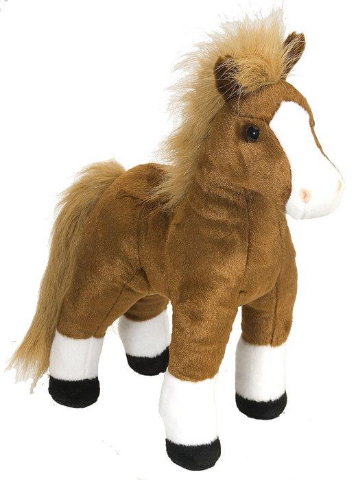 Peluche ck caballo marron 12
