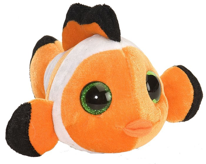 Peluche s&s pequeÑo pez payaso tangerine 5