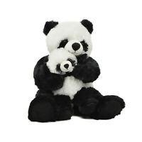 Peluche  madre y bebe panda mom