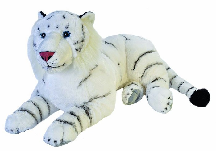 Peluche ck jumbo tigre blanco