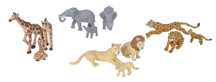 Nature tube - africa animal familia