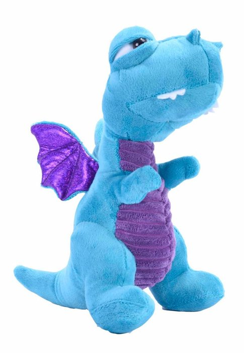 Peluche wild republic dragon azul