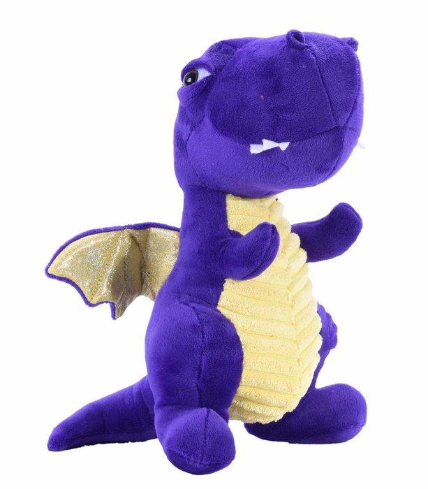 Peluche wild republic dragon morado