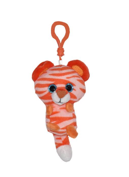 Llavero peluche tigre perfume mandarina