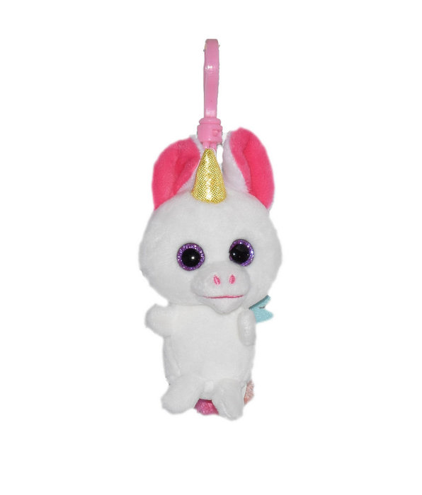 Llavero peluche unicornio perfume sandia