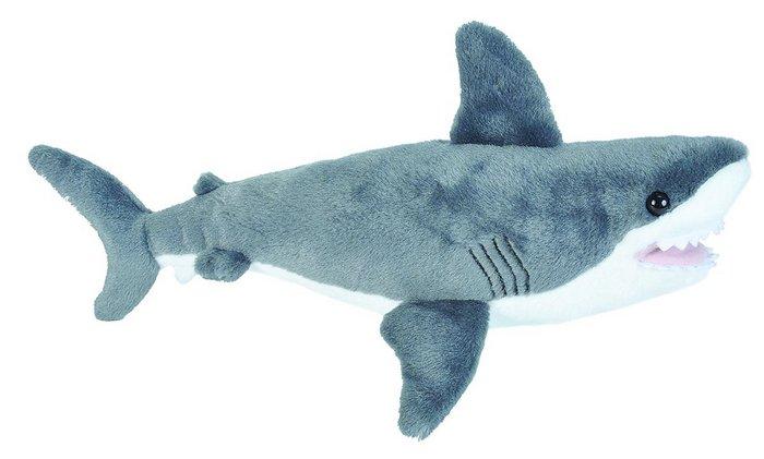 Peluche ck - mini tiburon blanco