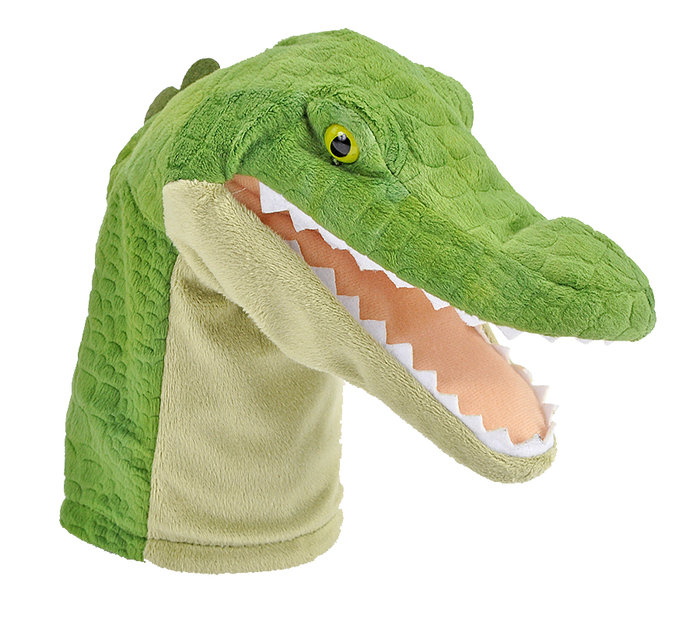 Peluche con sonido aligator