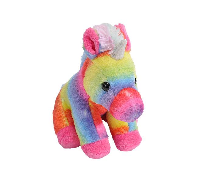 Peluche rainbow unicorn pock
