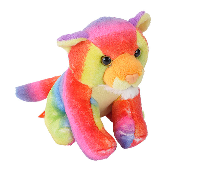 Peluche rainbow tiger pock