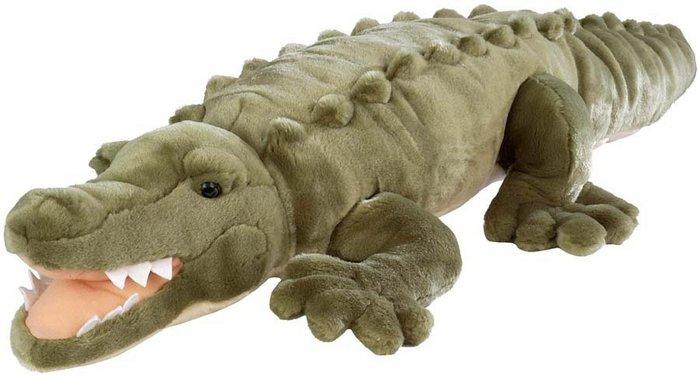 Peluche ck jumbo cocodrilo marino 76 cm