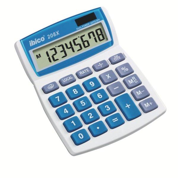 Calculadora ibico escritorio 208x blisterblanco