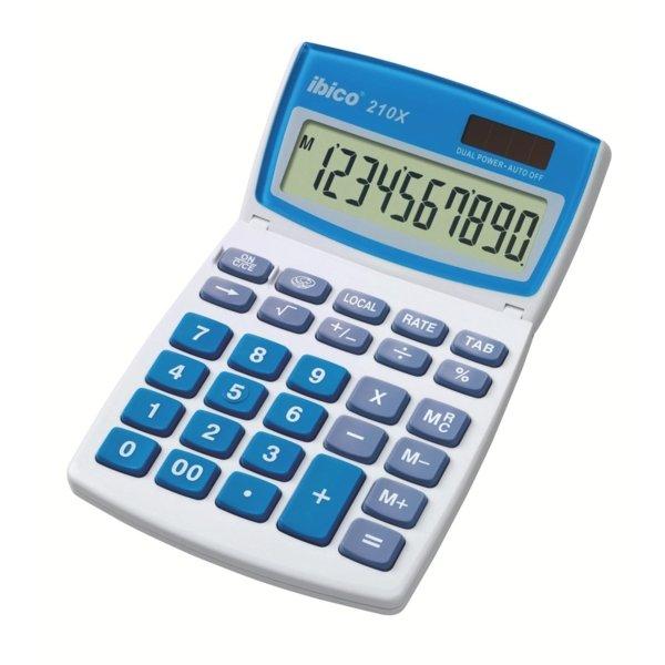 Calculadora ibico escritorio 210x blisterblanco