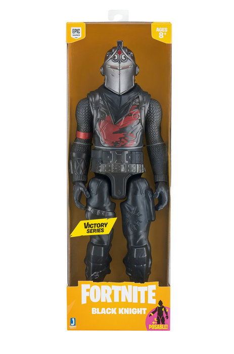 Figura fortnite pack victory 30 cm black knight