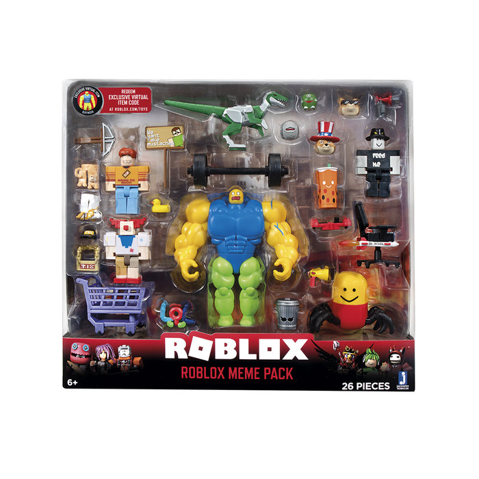 Roblox environmental set meme pack jazwares