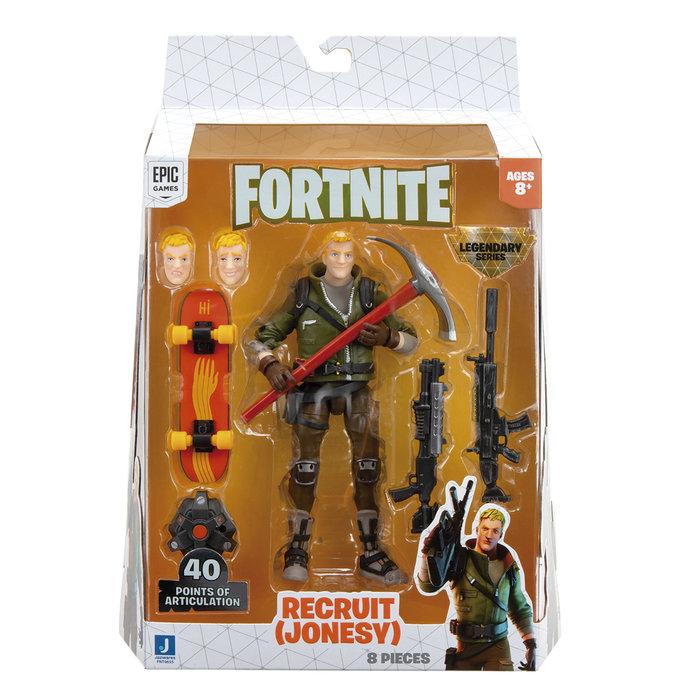 Fortnite figura recluta jonesy (legendary series)