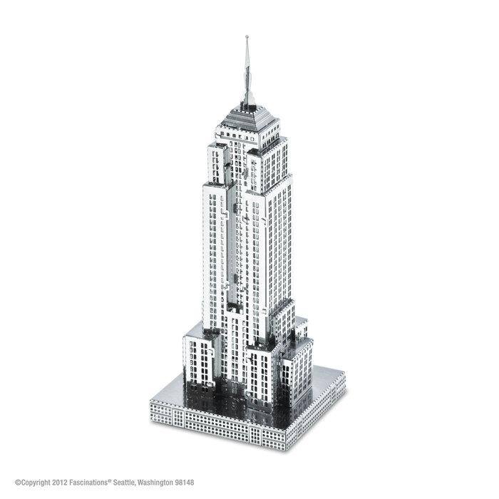 Maqueta metal edificio empire state