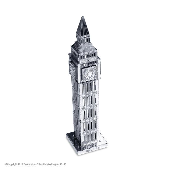 Maqueta metal torre big ben