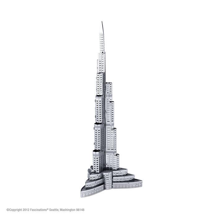 Maqueta metal burj khalifa