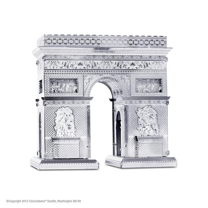 Maqueta metal arco del triunfo