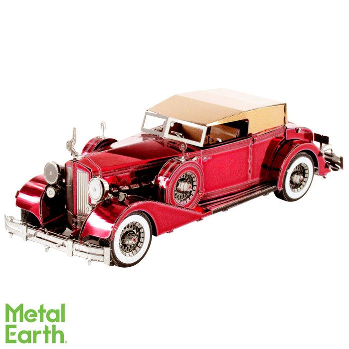 Maqueta metal 1934 packard twelve descapotable
