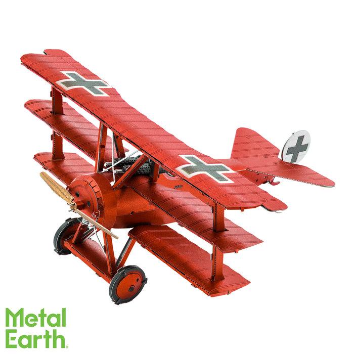 Maqueta metal avioneta baron von richthofen fokker