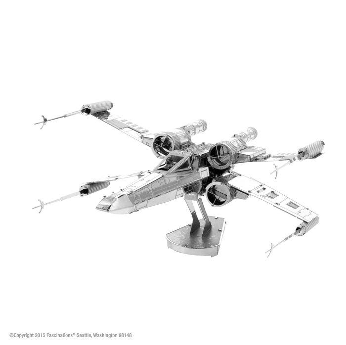 Maqueta metal x-wing star fighter star wars