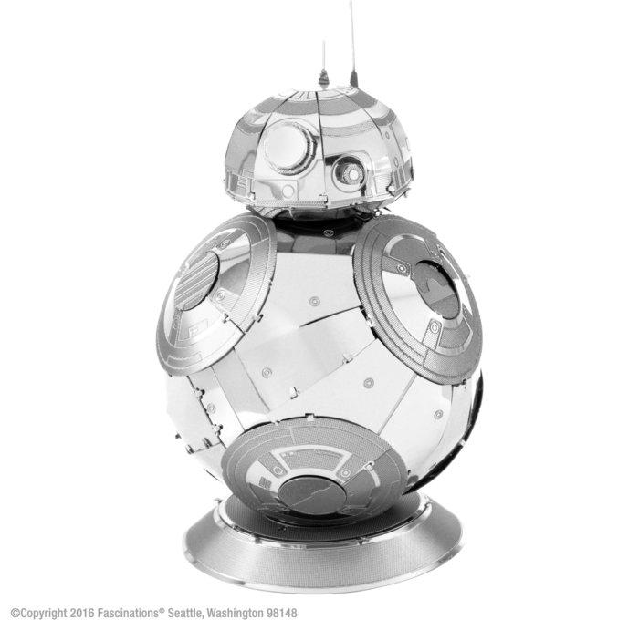 Maqueta metal robot bb8 star wars