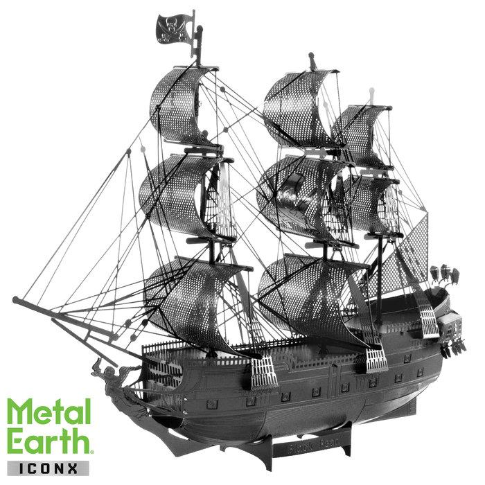 Maqueta metal barco perla negra