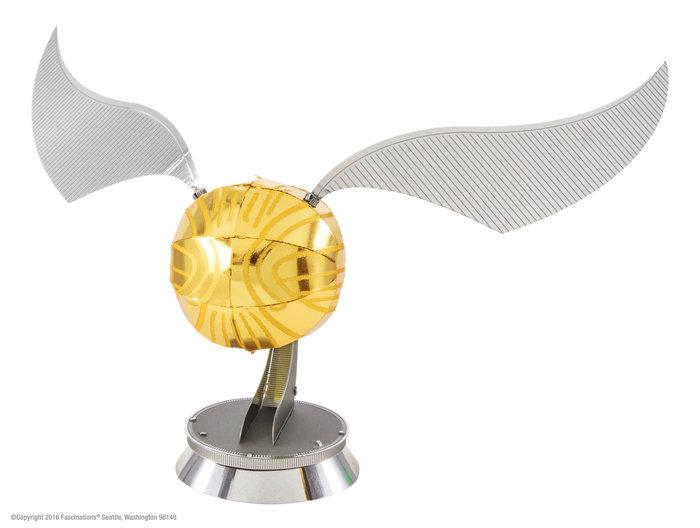 Maqueta metal snitch dorado