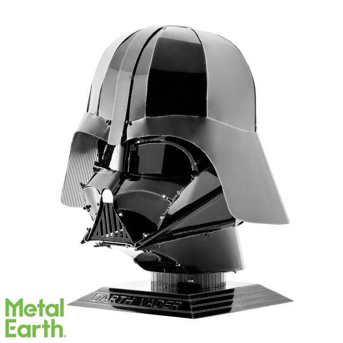 Maqueta metal casco darth vader