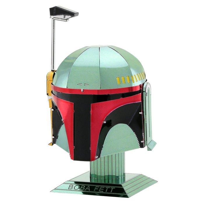 Maqueta metal casco boba felt
