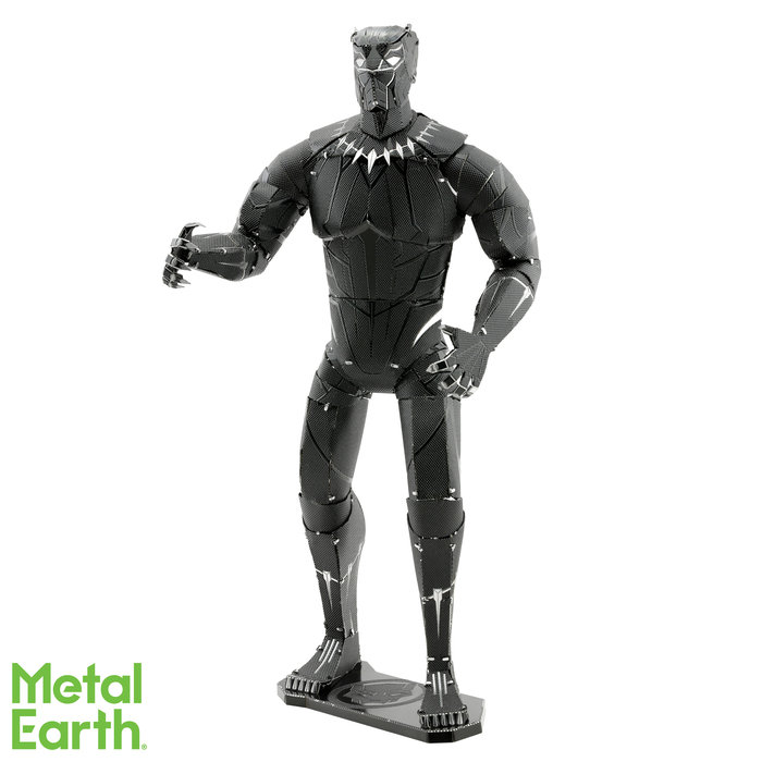 Maqueta metal marvel black panter