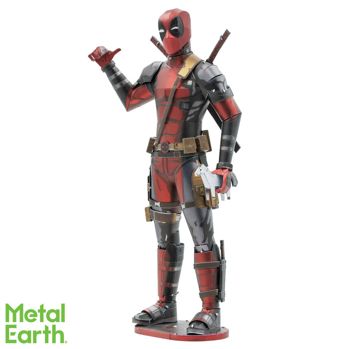 Maqueta metal marvel deadpool