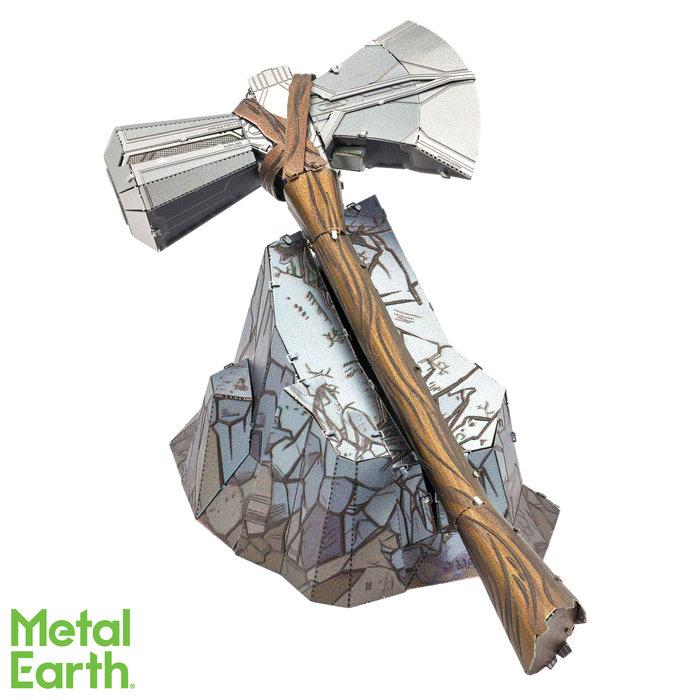 Maqueta metal marvel martillo thor