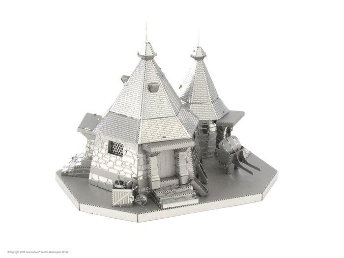 Maqueta metal casa de hagrid
