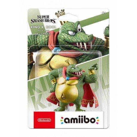 Amiibo king k. rool (coleccion super smash bros.)