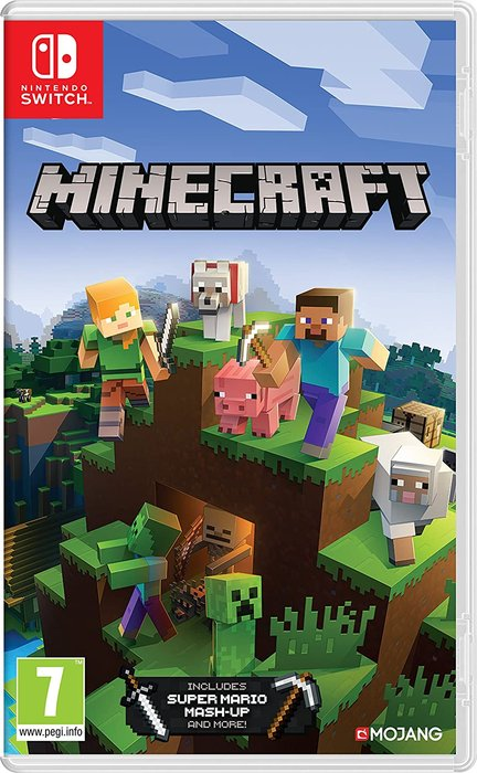 Videojuego switch minecraft: nintendo switch edition