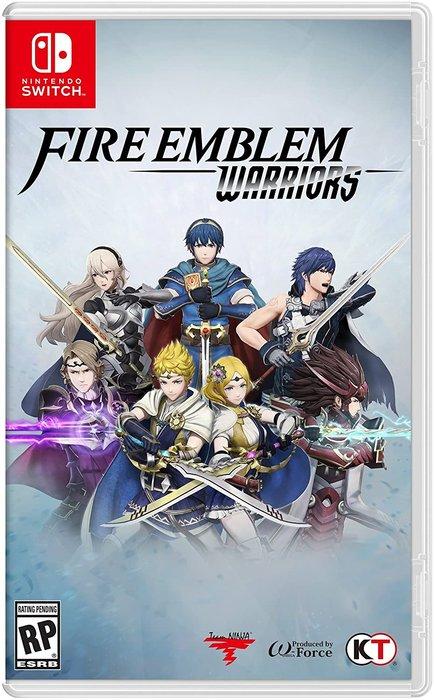 Videojuego switch fire emblem warriors