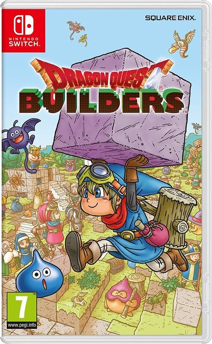 Videojuego switch dragon quest builders
